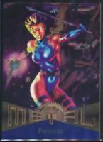 1995 Marvel Metal Trading Card #112 Psylocke