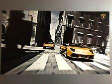 2008 Lamborghini Gallardo Superleggera & Murciélago Print, Picture, Poster RARE