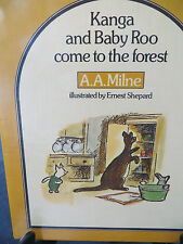 Kanga and Baby Roo Come to the Forest by A. A. Milne HB 1975 1st ed., OOP