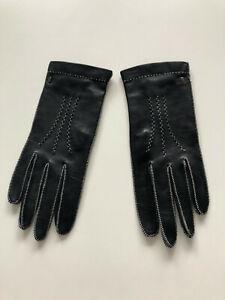Damen Lederhandschuhe von Röckl, Gr. 7, schwarz, neu ohne Etikett