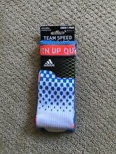 New Mens Adidas Formotion Team Speed Crew Athletic Socks Large - Multicolor