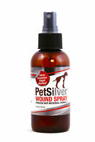 PetSilver® Wound Spray with New Chelated Silver - Dog and Cat Wound Care 4 oz.
