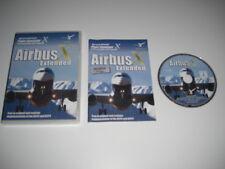 AIRBUS X EXTENDED Pc DVD Rom Add-On Microsoft Flight Simulator Sim X FSX FS