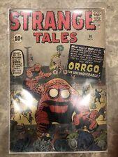 STRANGE TALES #90 MARVEL COMICS NOVEMBER 1961 KIRBY Low Grade