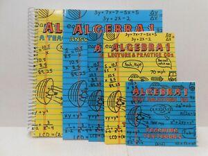Teaching Textbooks Algebra 1 Book, Lecture & Test CDs Greg & Shawn Sabouri
