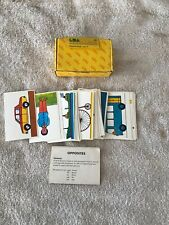 Vintage Lda, Learning Development Aids Made In England Activity Opposites Cards
