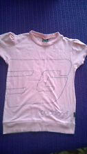 Stylish Golddigga Pink cotton top size S VGC work casual