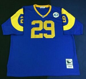Los Angeles Rams Eric Dickerson #29 Football-NFL Mitchell & Ness Jersey Size56