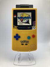 Game Boy Color Pokemon   IPS V3 Backlit   8 Brightness Levels + 8 Colour Modes