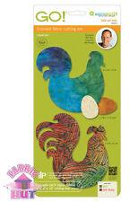 Accuquilt GO! Fabric Cutter Die Folk Art Fowl by Bill Kerr Quilting Sewing 55375