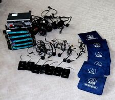 Set of 5 AKG WR2000 and set of 2 SR80  wireless Head microphones