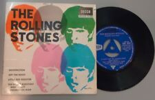 EP 7'' THE ROLLING STONES Satisfaction +3 Vinyl VG tricenter Cover VG