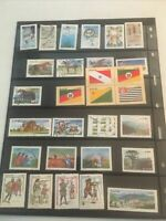 Collection Of Foreign Brazil on cards Mint and used many new issues nh d-88