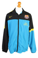 Nike Mens Tracksuit Top FC Barcelona Vintage Full Zip Size XL Multi - SW2550