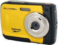 Bell+Howell Splash Yellow Waterproof Digital Camera with HD Video - WP10-Y