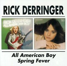 Rick Derringer - All American Boy / Spring Fever [New CD] Rmst
