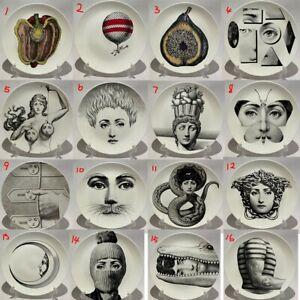 Fornasetti Plates Art Beauty Face SKULL Custom Los Platos For Home Art Bedroom