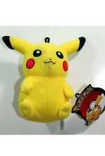 """Pokemon Pikachu Plush Stuffed Toy Doll 7"""" Authentic Official Licensed NEW"""