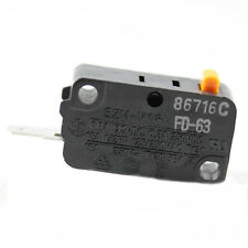 Microwave Oven Micro Switch Replacement For Starion SZM-V16-FD-63 Normally Open