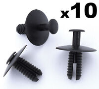 10x BMW Expanding Rivets- Plastic Trim Clips for bumpers, sills, skirts & covers