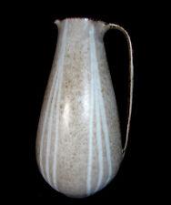 Beautiful jarrón de cerámica, cántaro arte cerámica, tipo Pottery pitcher mid CENTURY 1950s