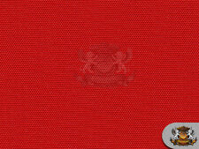 """Waterproof Fabric Canvas Outdoor w/ UV Protected Solid RED 60"""" Wide Sold BTY"""