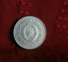 1987 Socialist Federal Republic of Yugoslavia 100 Dinara World Coin Sate Emblem