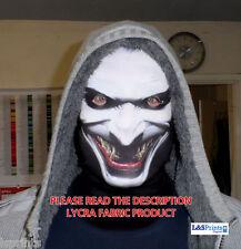Joker Gesicht Halloween gruslige Horror Maske Kostüm Sensenmann L&S Aufdruck