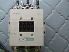 SIEMENS 3 POLE CONTACTOR 3RT1054-6AF36