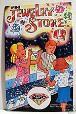 Jewelry Store Gumball Vending Machine Card / Old Stock