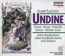 Lortzing: Undine / Eichhorn, Krause, Hampe, Protschka, Janssen - CD