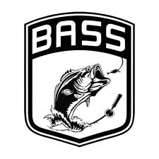 Bass Master Fishing Decal Sticker 6