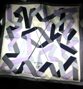 Hermes EN DUO cotton scarf