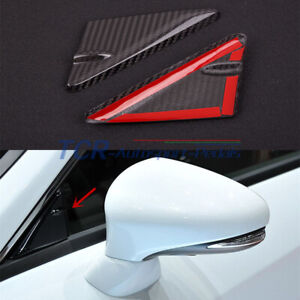Carbon Front Window Triangle Panel Trim For Lexus RC 200 300 350 F SPORT 2015-19