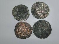 Rudolf II 1576-1608 Europe, Patrona, Jesus, Holly Mary, 4 coins