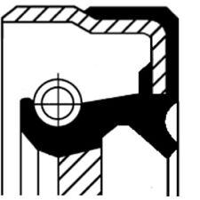 CORTECO WELLENDICHTRING, NOCKENWELLE ALFA ROMEO, CHEVROLET, CHRYSLER, 20011244B