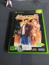 Shenmue II 2- Jeu Xbox Microsoft - Avec Notice