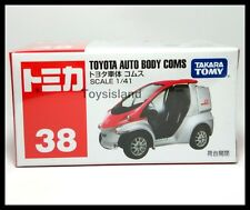 TOMICA #38 TOYOTA AUTO BODY COMS 1/41 TOMY 2015 JULY NEW MODEL NEW DIECAST CAR