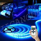 Blue Led Boat Light Deck Waterproof 12v Bow Trailer Pontoon Lights Kit Marine Us