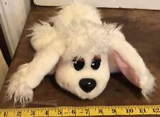 Pound Puppies White Puppy Dog Plush Mattel