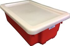 Nally IH052 Recycled Plastic lid to suit IH051 Stack and Nest Container