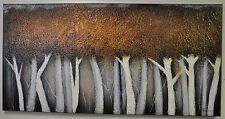 "Ren Will OL939 'Bronze Birch' 30"" x 60"" Painting By Patrick St Germain"