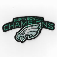 Philadelphia Eagles Super Bowl LII Champions Iron on Patches Emblem Patch E FN