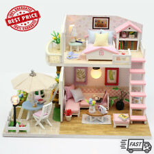 LOLL SURPRISE DOLLL HOUSE Made with REAL WOOD - SURPRISES!!