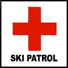 "Ski Patrol Vinyl Decal ""Sticker"" For Car or Truck Windows, Laptops, etc"