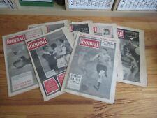 FRANCE FOOTBALL ANNEE 1957 LOT OU  A L'UNITE