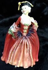 "Royal Doulton Camille Figurine, HN1586, Earliest Version, ""Camille"" Hand Written"