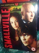 Smallville: The Complete Third Season [6 Discs] [2010 DVD Boxset) Very Good Cond