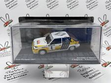 """DIE CAST """" RENAULT 11 TURBO RALLY PORTUGAL 1987 J. RAGNOTTI """" PASSIONE RALLY ..."""