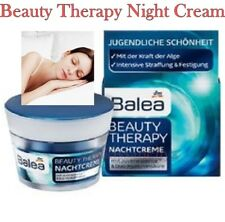 Balea Beauty Therapy Night Cream 50ml Intense Skin Tightening and Firmation
